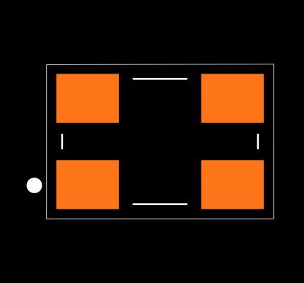 ECS-240-20-30B-AGL-TR Footprint