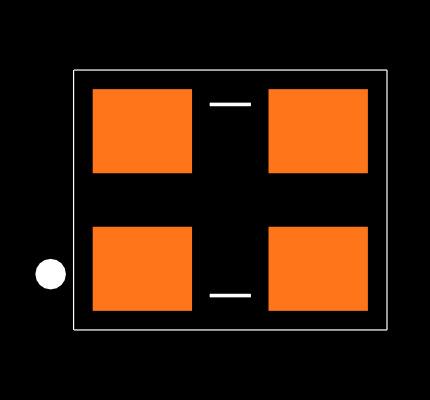 ECS-240-8-33-AGN-TR Footprint