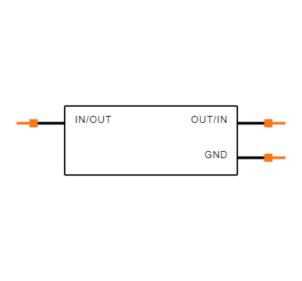 ECS-260-8-36Q-CWY-TR Symbol