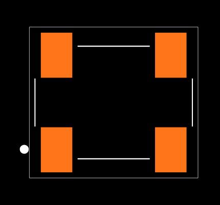 ECS-3951M-160-AU-TR Footprint