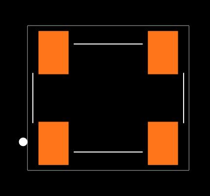 ECS-3953M-036-B-TR Footprint