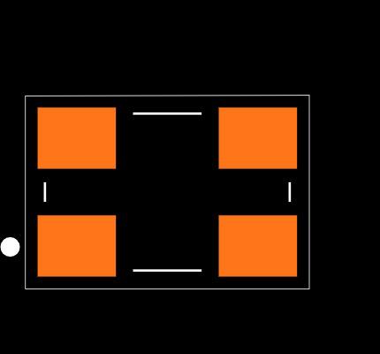 ECS-100-18-30B-AGN-TR Footprint