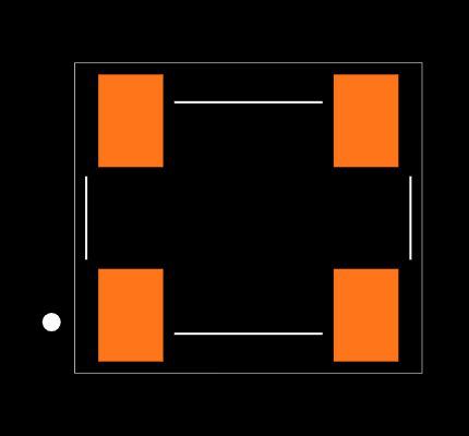 ECS-P75-B Footprint