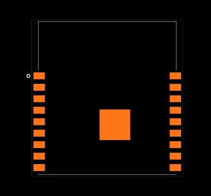 ESP-WROOM-02 Footprint