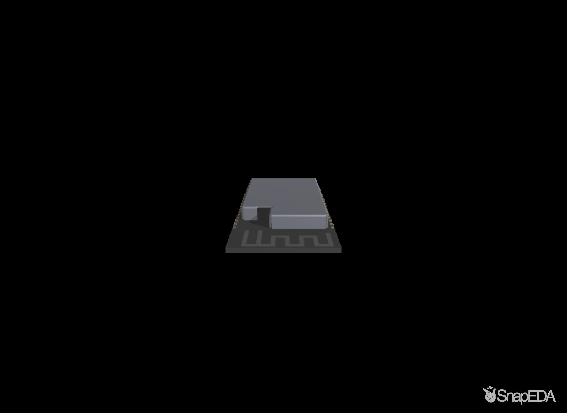 ESP32-S2-WROVER 3D Model