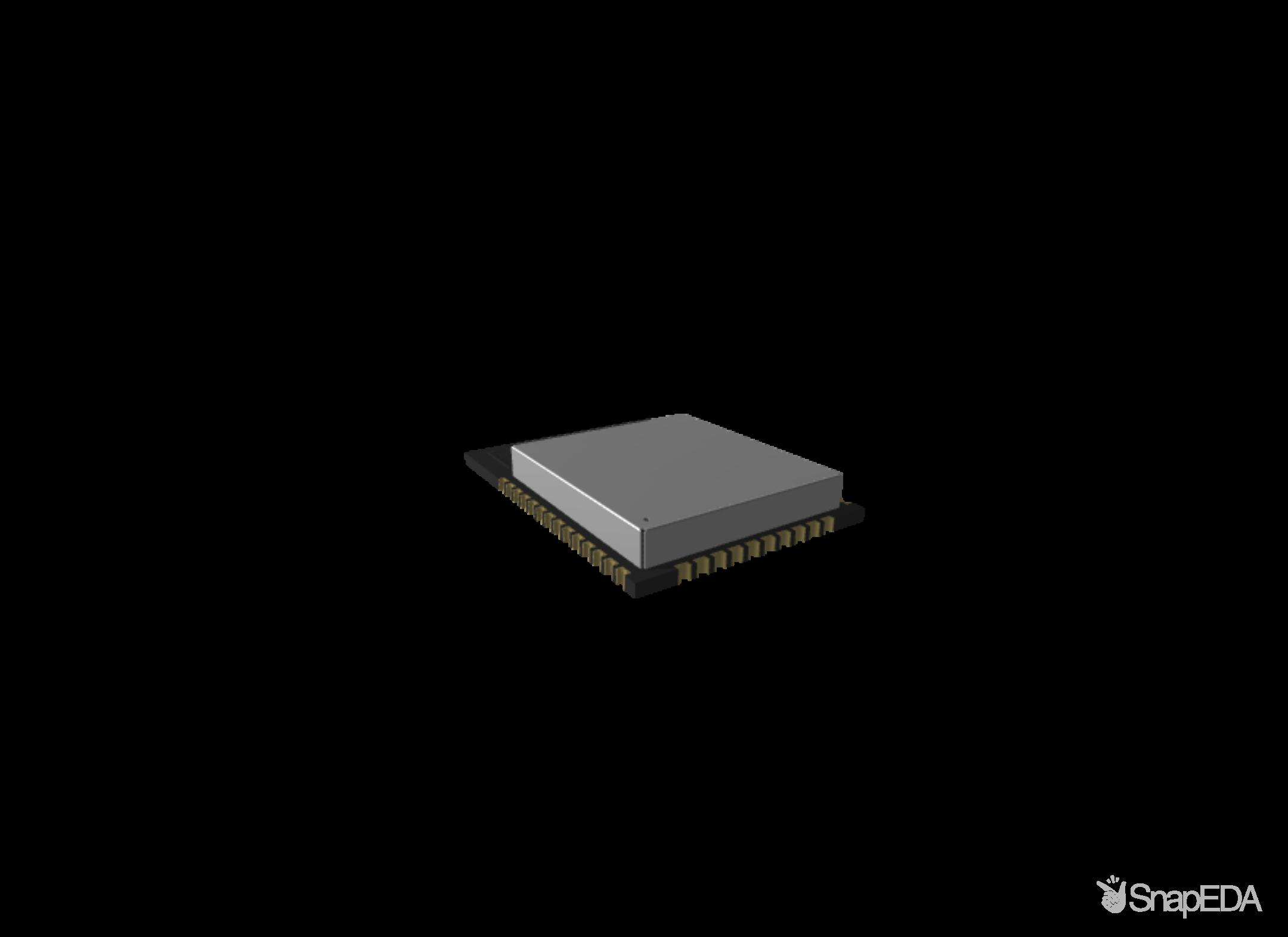 ESP32-WROOM-32D 3D Model