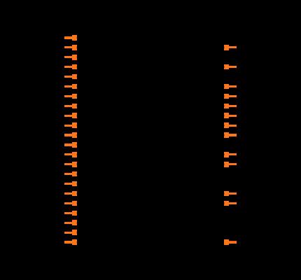 ESP32-WROOM-32U footprint & symbol by Espressif Systems