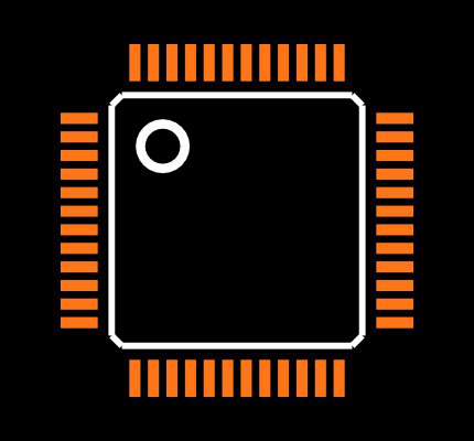 FT2232D-REEL Footprint