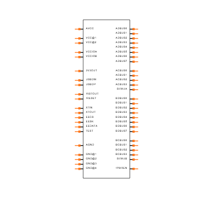 FT2232D-REEL Symbol