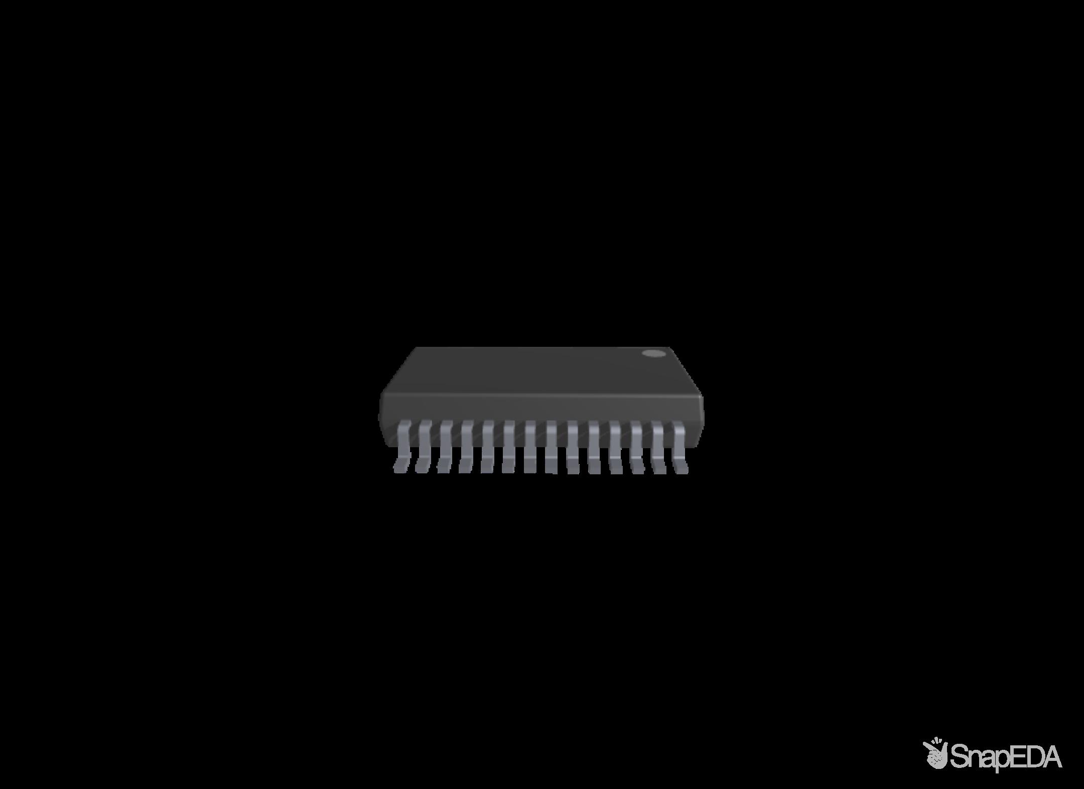 FT232RL-REEL 3D Model