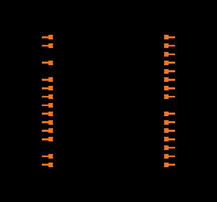 ATMEGA328P-PU footprint & symbol by Generic | SnapEDA