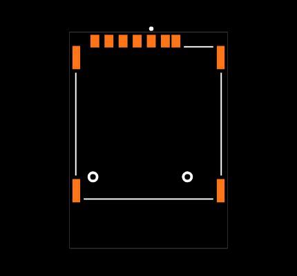 SIM8066-6-1-14-01-A Footprint
