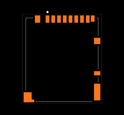 DM3BT-DSF-PEJS Footprint