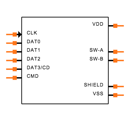 DM3BT-DSF-PEJS Symbol