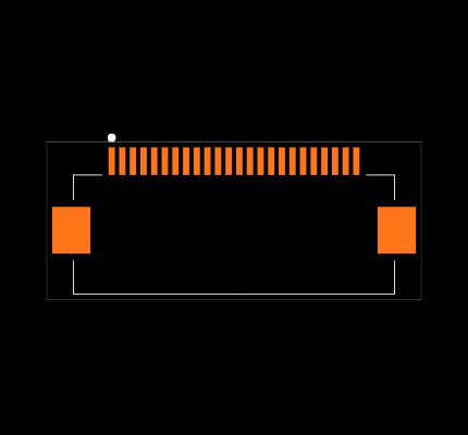 FH12-24S-0.5SH(55) Footprint