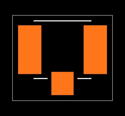 U.FL-R-SMT-1(10) Footprint