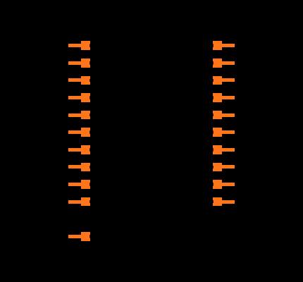 DF12(4.0)-20DP-0.5V(86) Symbol