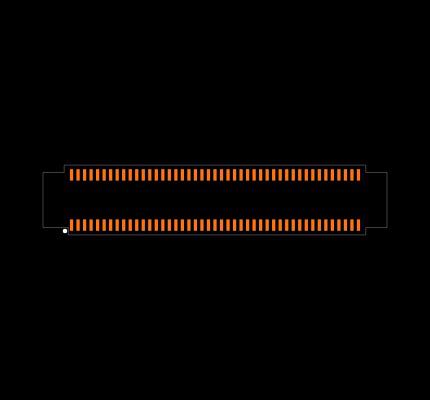 DF40C-90DS-0.4V(51) Footprint