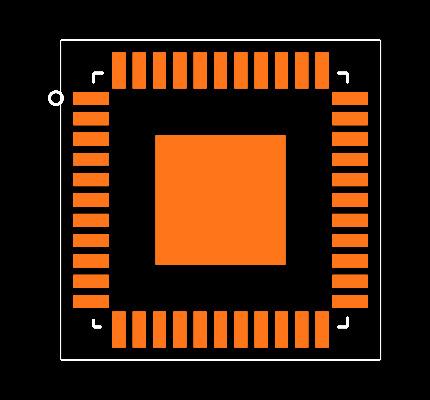 IS31FL3236-QFLS2-TR Footprint