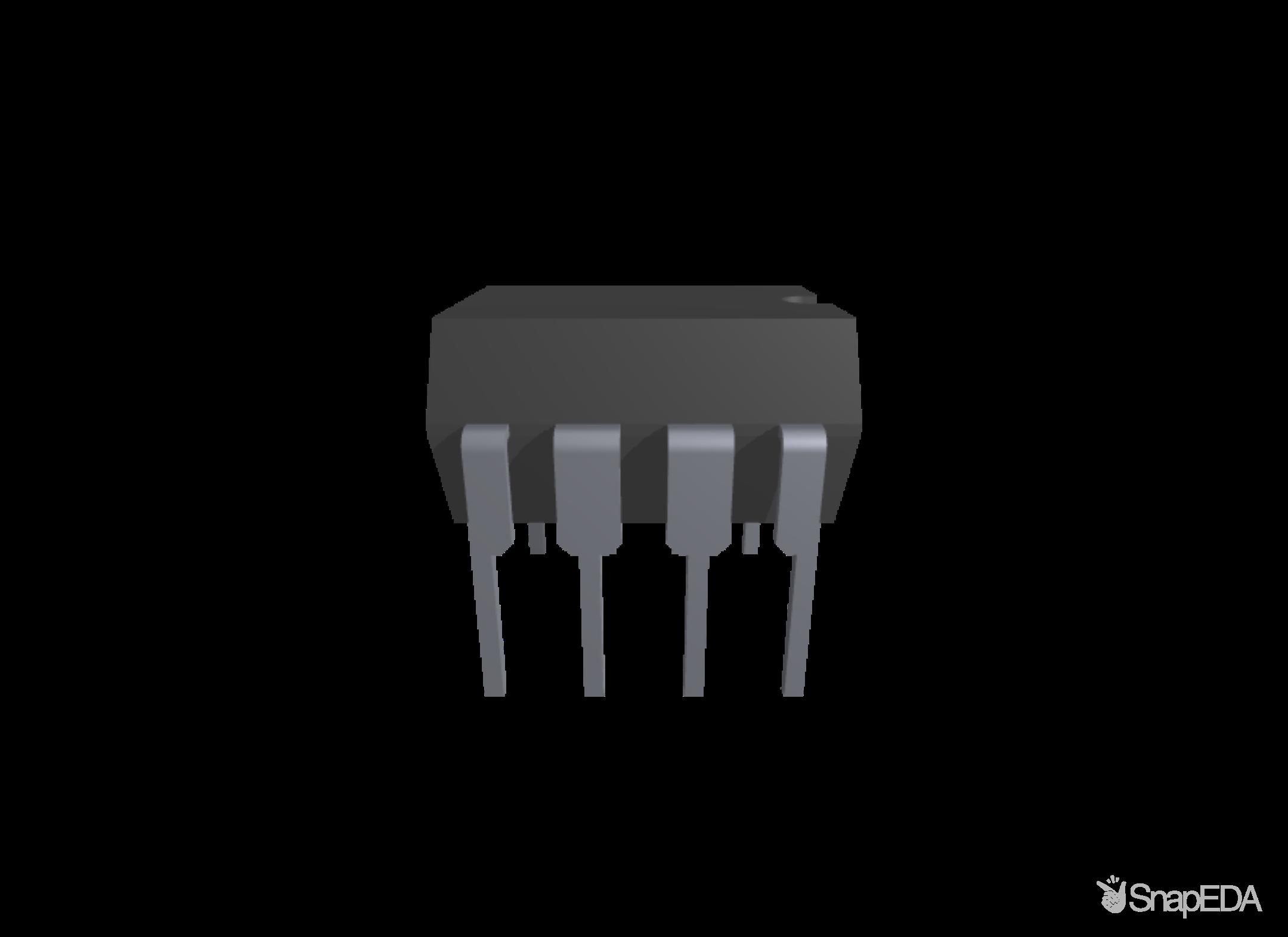IR2104 3D Model