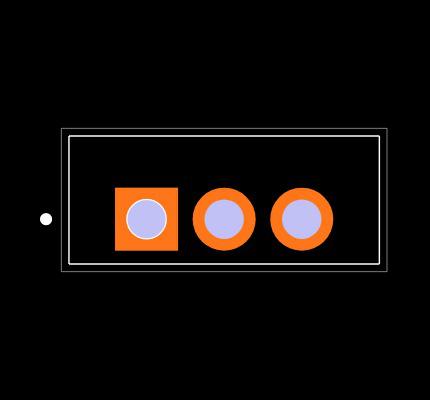 IRF1010NPBF Footprint