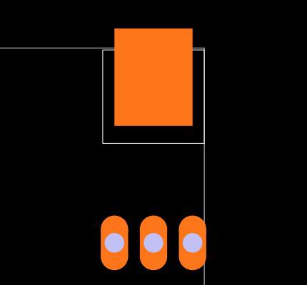 IRFU024NPBF Footprint