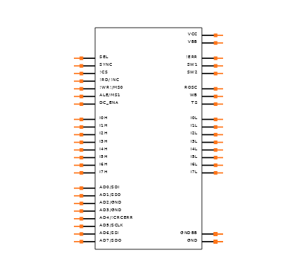ISO1I813T Symbol