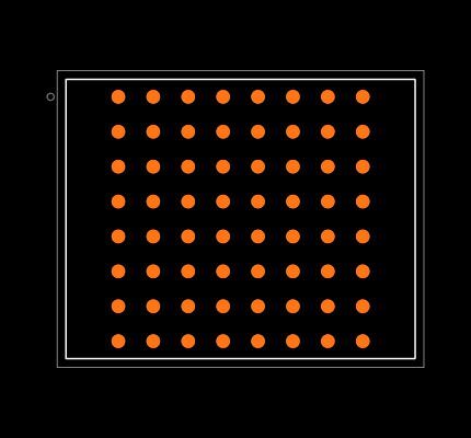 5M80ZM64I5N Footprint