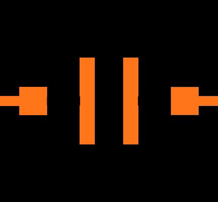 C0402C104K4RALTU Symbol