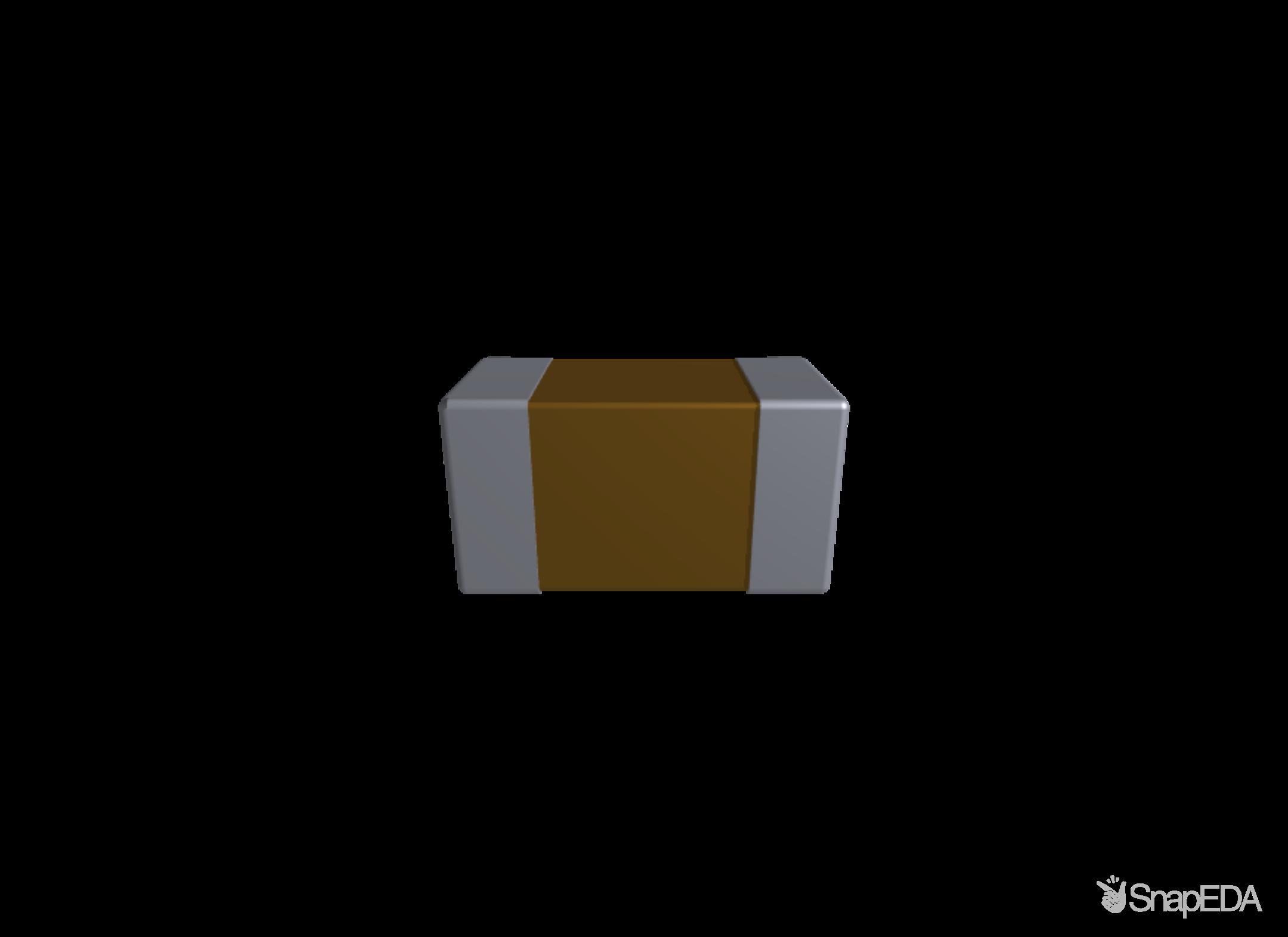 C0603C102J3GACTU 3D Model