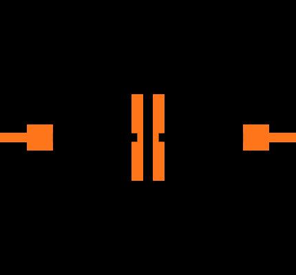 C0603C104K5RACTU Symbol