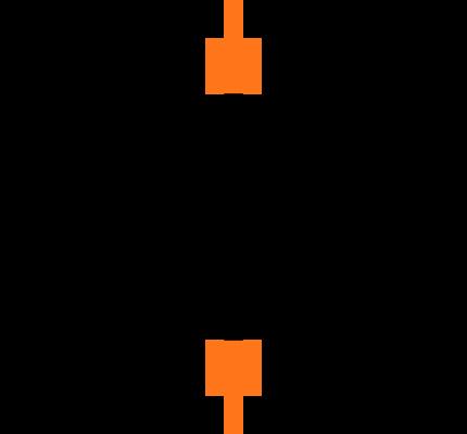 C0603C105K4PACTU Symbol