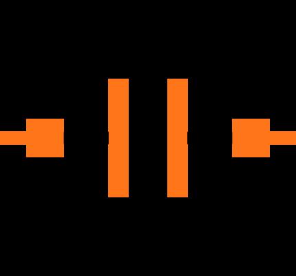 C0603C181J5GAC Symbol