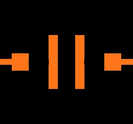 C0805C100J1GACAUTO Symbol