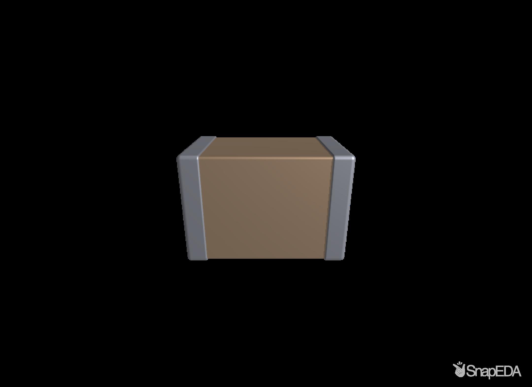 C0805C223K5RACTU 3D Model