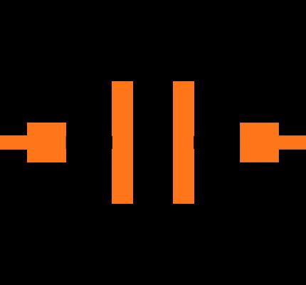 C1206C106K4PACTU Symbol