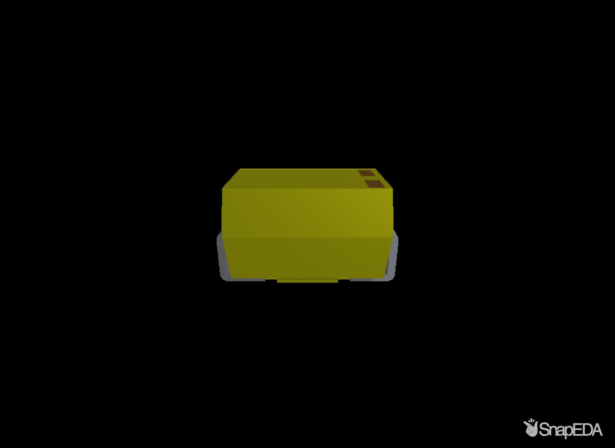 T491A104K050AT 3D Model