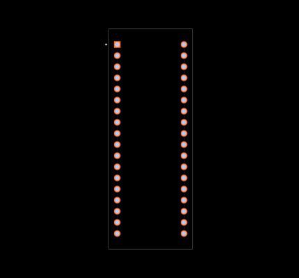 CA56-11EWA Footprint