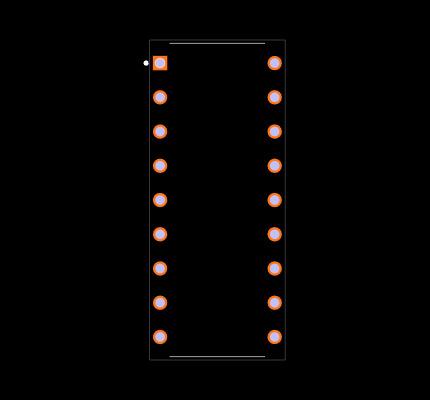 DA56-11EWA Footprint