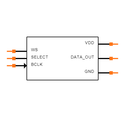 SPH0645LM4H-B Symbol