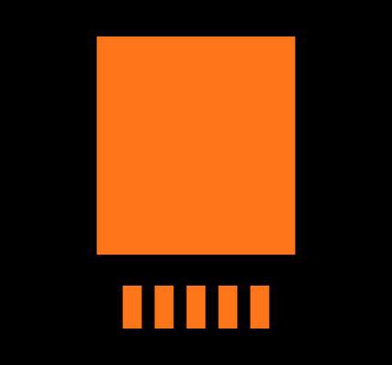 LT1764AEQ-3.3#TRPBF Footprint