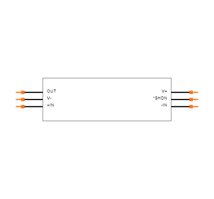 LT1809IS6#TRMPBF Symbol