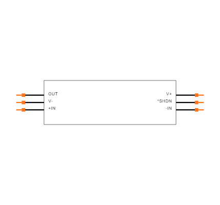 LT1806CS6#TRMPBF Symbol