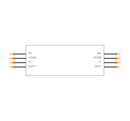 LT1994CMS8#TRPBF Symbol