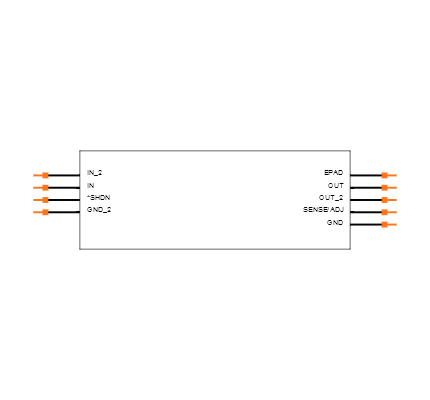 LT3015EDD-5#TRPBF Symbol