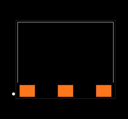 ANT-2.4-USP-T Footprint