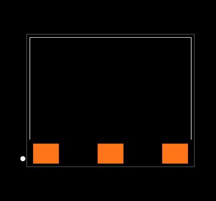 ANT-2.4-USP Footprint