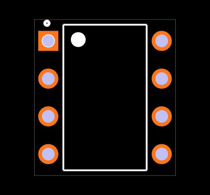LTV-827 Footprint