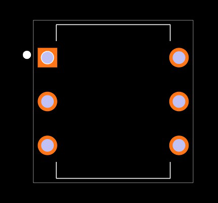 MOC3083 Footprint