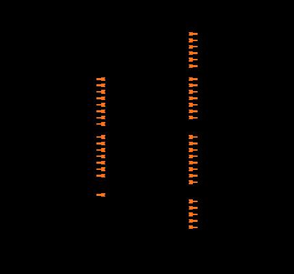 ENC424J600-I/PT Symbol